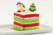 Free Chrismas Cake Stock Photography - 28707032