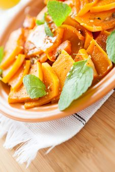 Free Aromatic Dish Of Pumpkin And Spices Stock Photo - 28709550