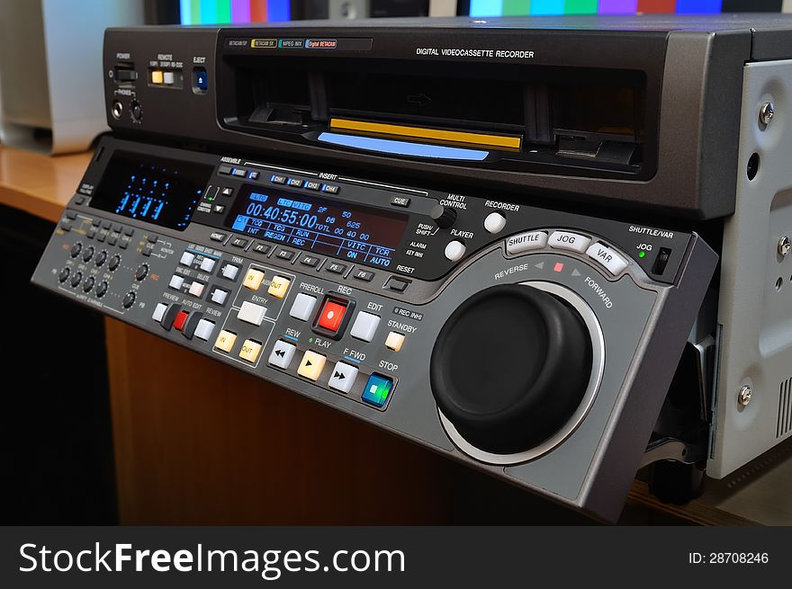 Professional Video Recorder Free Stock Images Photos 28708246