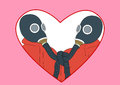 Free Fun Valentine Card Royalty Free Stock Image - 28711076