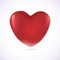 Free Illustration With A Red Heart Royalty Free Stock Photo - 28714505