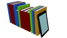 Free Books And Tablet Pc Stock Photos - 28710793