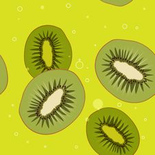 Free Background Of Kiwi Slices Stock Images - 28711564