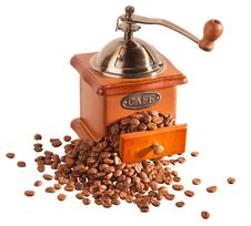 Free Coffee Grinder Stock Photos - 28713183