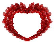Free Shining Heart Stock Photo - 28716310
