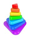 Free Color Layered Pyramid. Royalty Free Stock Images - 28722149