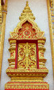 Free Thai Wiindow Sculpture. Royalty Free Stock Images - 28723789
