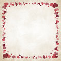 Free Border Of Hearts Stock Photos - 28724293