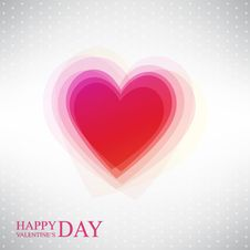 Free Abstract Heart By Valentines Day Royalty Free Stock Images - 28724289