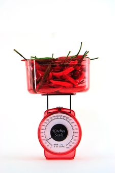 Free Chili Scale Stock Photos - 28725163