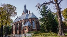 Lutheran Parish Church Royalty Free Stock Photos