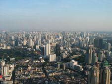 Free View Of Bangkoks Skyline Royalty Free Stock Photography - 28729227
