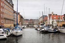 Free Christianshavn Canal Stock Photo - 28729540