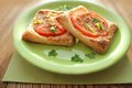 Free Puff Pastry With Tomatoes Stock Photography - 28733172