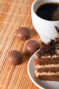 Free Sweets,coffee And A Piece Of Cake Royalty Free Stock Photos - 28734478