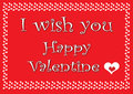 Free Valentine Card2 Stock Images - 28734804