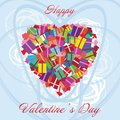 Free Valentines Day Heart Gifts Stock Photography - 28734882