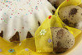 Free Easter Cake And Eggs Stock Photos - 28735053