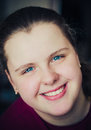 Free Close-Up Portrait Of A Happy Young Woman Stock Photos - 28737373