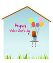 Free Valentine Text On The Wall Stock Photo - 28737390