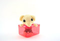 Free Cute Rat Doll Yarn Stock Photography - 28737982