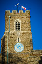 Free English Church With St George Flag Royalty Free Stock Photography - 28738547