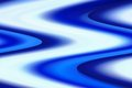 Free Big Blue Zigzag Waves Stock Photography - 28739572