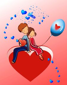 Composition For Valentine S Day Stock Photography