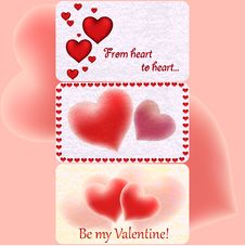 Free Valentine`s Greeting Cards Stock Photo - 28732120