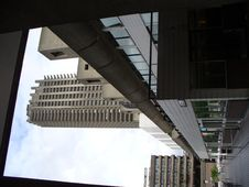 Free Framed View At The Barbican Centre Stock Photos - 28732383