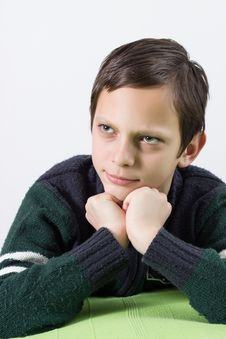 Free Funny Boy Making Grimace Stock Photos - 28733533