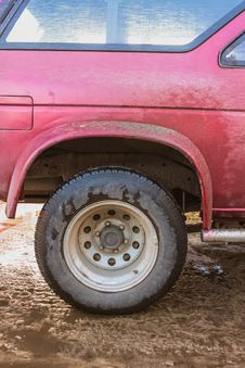 Free Car Wheel Stock Image - 28737311