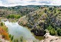 Free The Tagus River Flows Through Toledo, Spain Royalty Free Stock Photography - 28742257