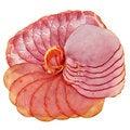Free Sliced Ham And Tenderloin. Stock Photography - 28748522