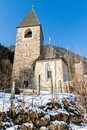 Free Church On The Hill Of Gais Royalty Free Stock Photo - 28749925