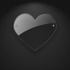 Free Vector Glass Heart. Stock Photo - 28740760