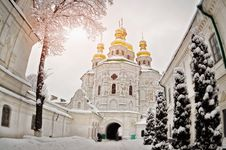 Free Gold Domes Of Ukraine Royalty Free Stock Photos - 28742358