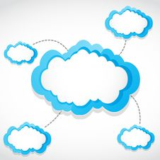 Free Cloud Computing Transfer Stock Image - 28746341