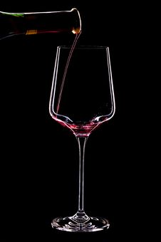 Free Wine In The Dark Royalty Free Stock Photography - 28746907