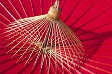 Free Bamboo Umbrella Stock Photography - 28749012