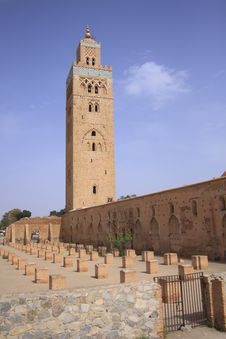 Free Koutoubia Mosque In Marrakech Royalty Free Stock Photography - 28749097