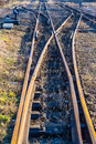 Free Narrow-gauge Railway Side Track Stock Photos - 28753053