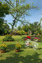 Free Beautifully Manicured Park Garden In Tropics Royalty Free Stock Photo - 28754375