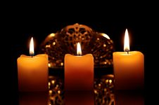 Free Candles Stock Photo - 28750010