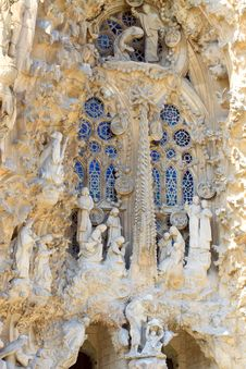 Free La Sagrada Familia Royalty Free Stock Image - 28751226