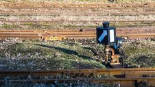 Free Narrow-gauge Railway Switch Stock Photo - 28753010