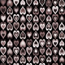 Free Seamless Hearts Pattern Royalty Free Stock Photos - 28754758