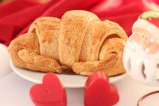 Free Croissant, Danish Pastry Stock Image - 28758071