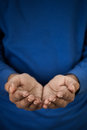 Free Requesting Dirty Hands Royalty Free Stock Photo - 28760145