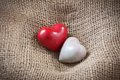 Free Two Heart In A Nest Royalty Free Stock Photo - 28764735
